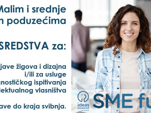 Na raspolaganju su sredstva Ureda EU za intelektualno vlasništvo za MSP-ove
