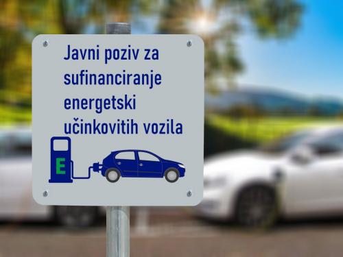 Objavljen je Javni poziv za sufinanciranje energetski učinkovitih vozila
