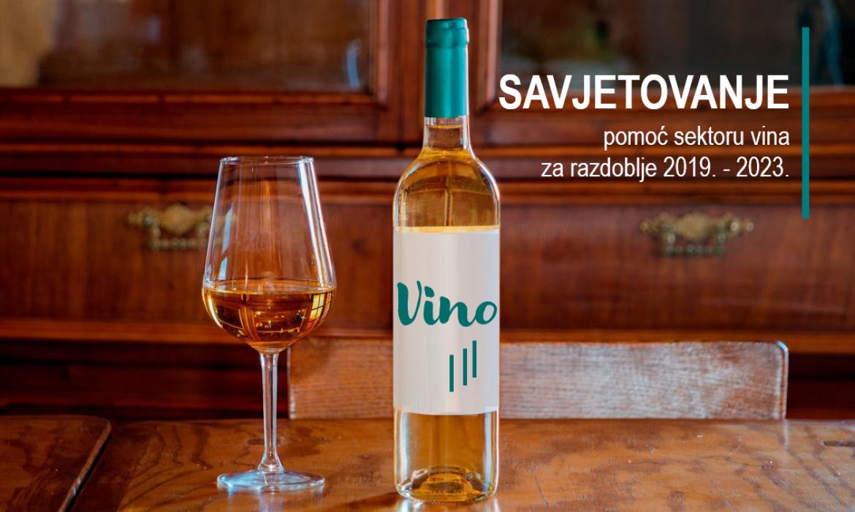 Otvoreno je novo savjetovanje za pomoć sektoru vina