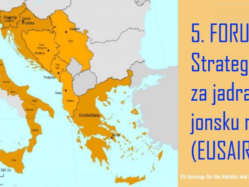 Otvorene su prijave za 5. FORUM EU strategije za jadransku i jonsku regiju (EUSAIR)