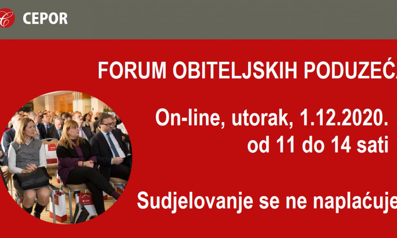 On-line Forum obiteljskih poduzeća- najava