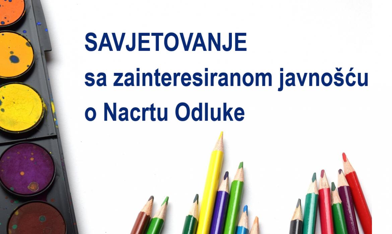Otvoreno je novo savjetovanje o donošenju programa potpore u odgoju i obrazovanju