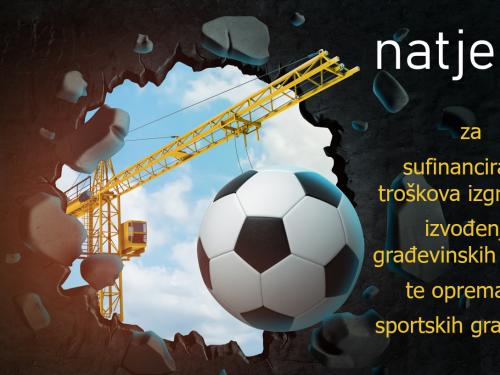 Natječaj za sufinanciranje- sportske građevine