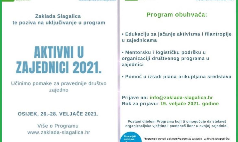 Uskoro edukacija za jačanje aktivizma i filantropije u slavonskim županijama