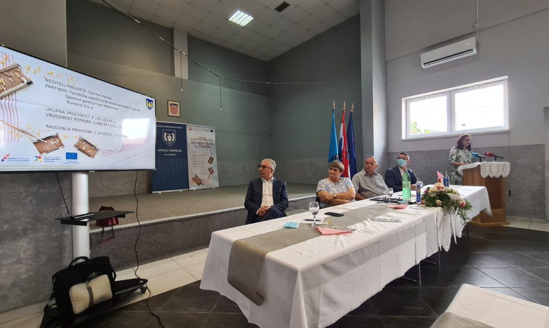 """Održana Uvodna konferencija projekta """"Izgradnja Kulturno-turističkog centra Eko-etno kuća u Vrpolju"""""""
